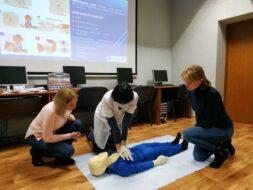 Тренінг з першої домедичної допомоги